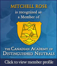 mitchell rose member of the canadian academy od distinguished neutrals